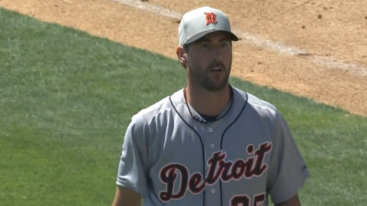 Opening statement? Verlander makes his case