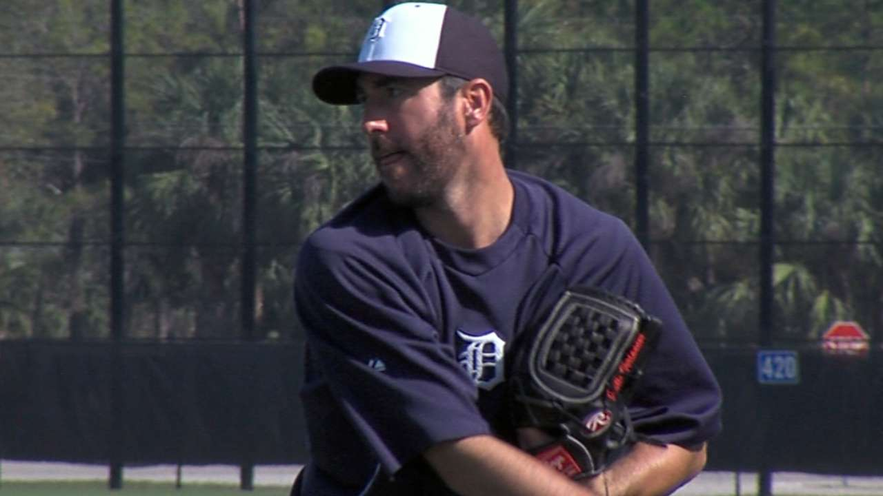 Verlander to be Tigers' Opening Day starter