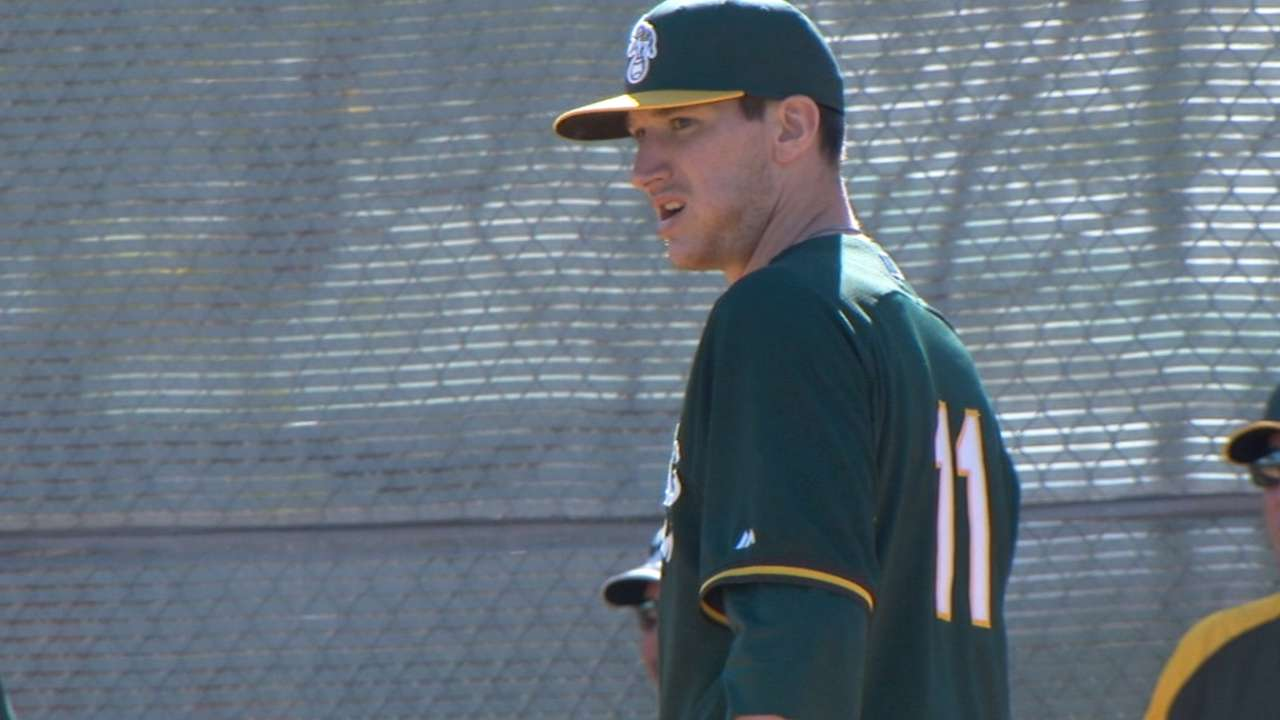 Depth of A's organization to be tested again in 2014