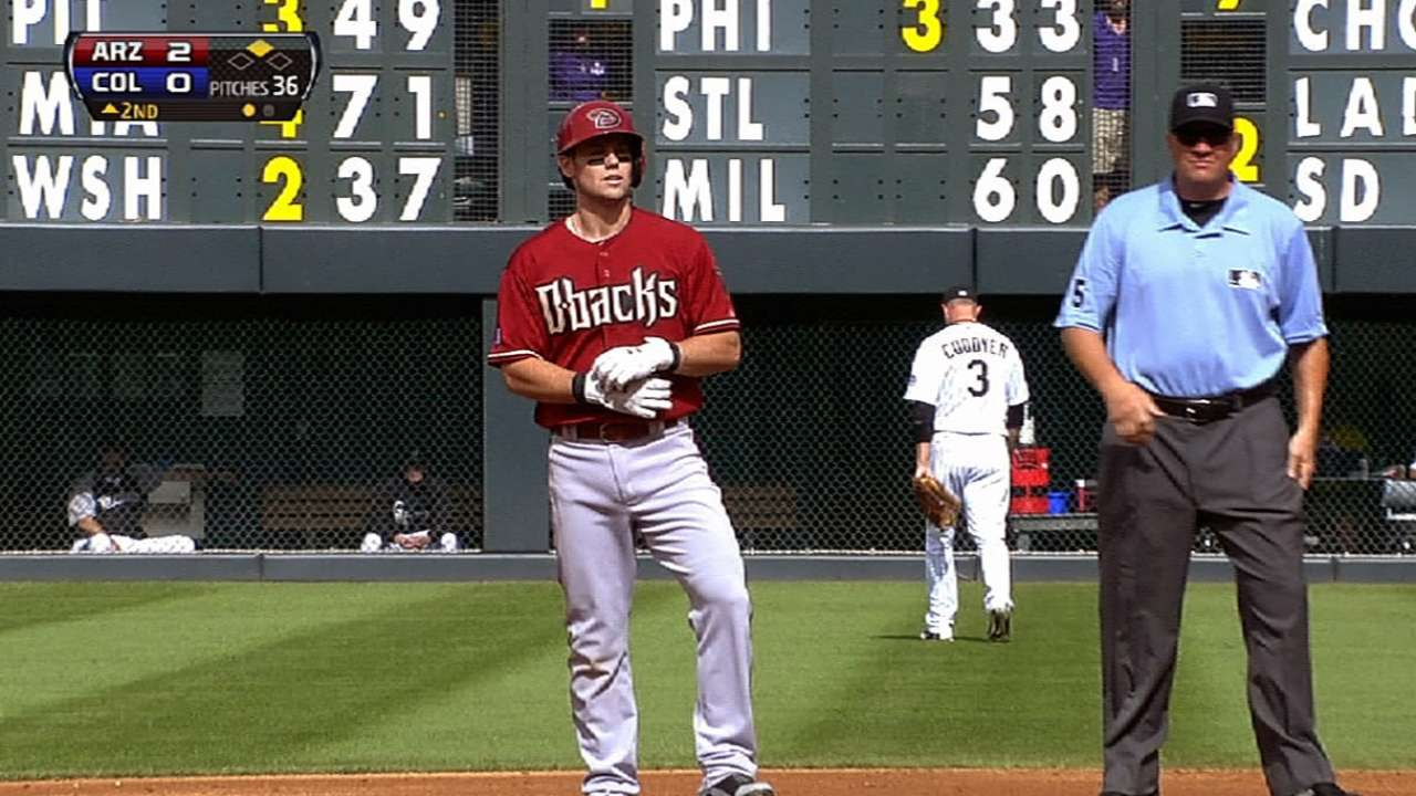 Future is now for D-backs' Owings