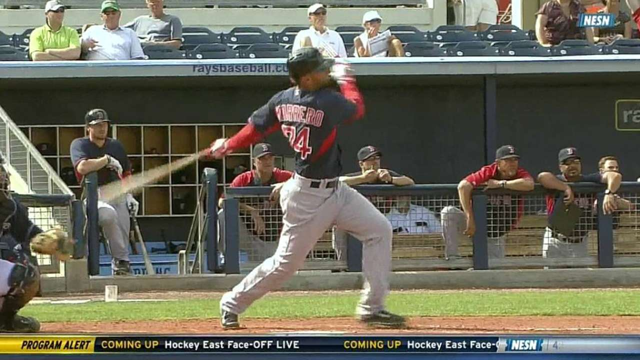 Marrero impressing Red Sox with glove