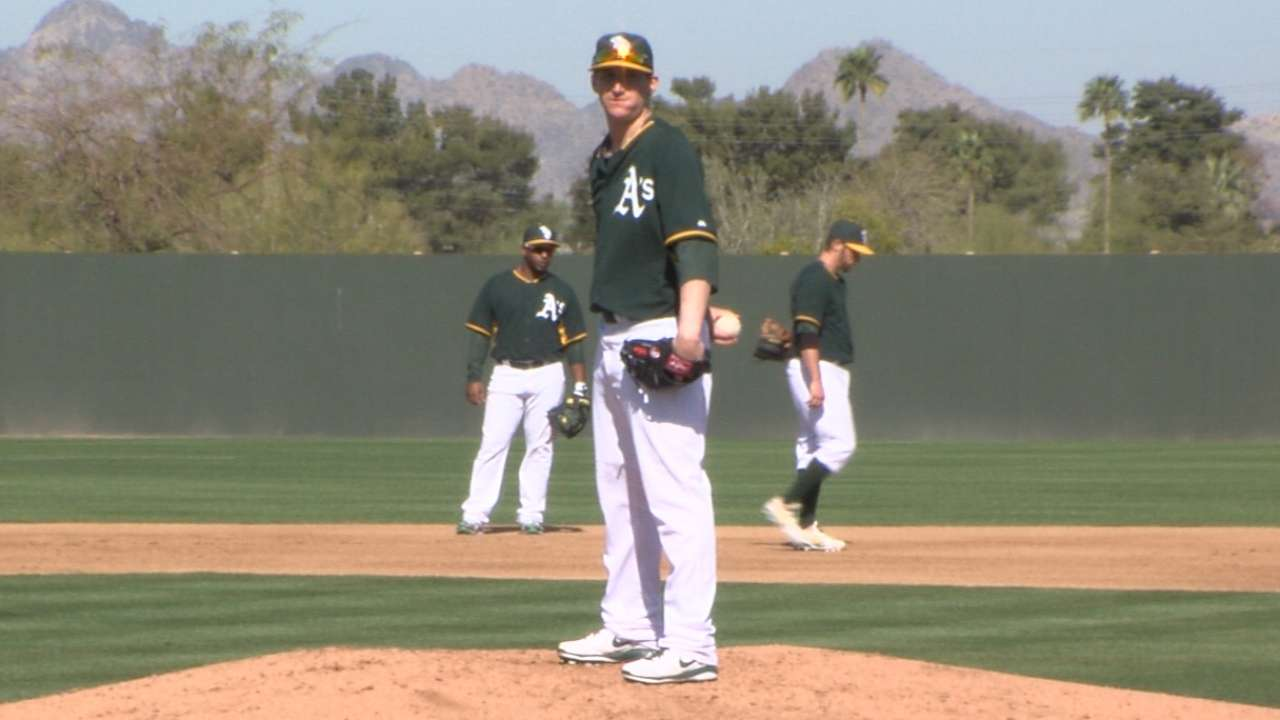 A's claim Matthes, put Parker on 60-day DL