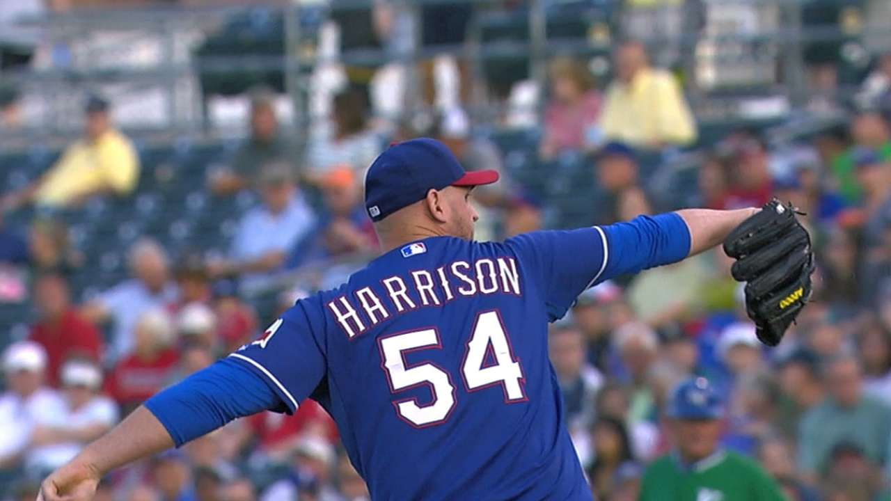 Harrison says he's ready after strong rehab start