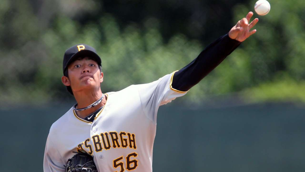 Wang to continue bullpen bid with start vs. Rox