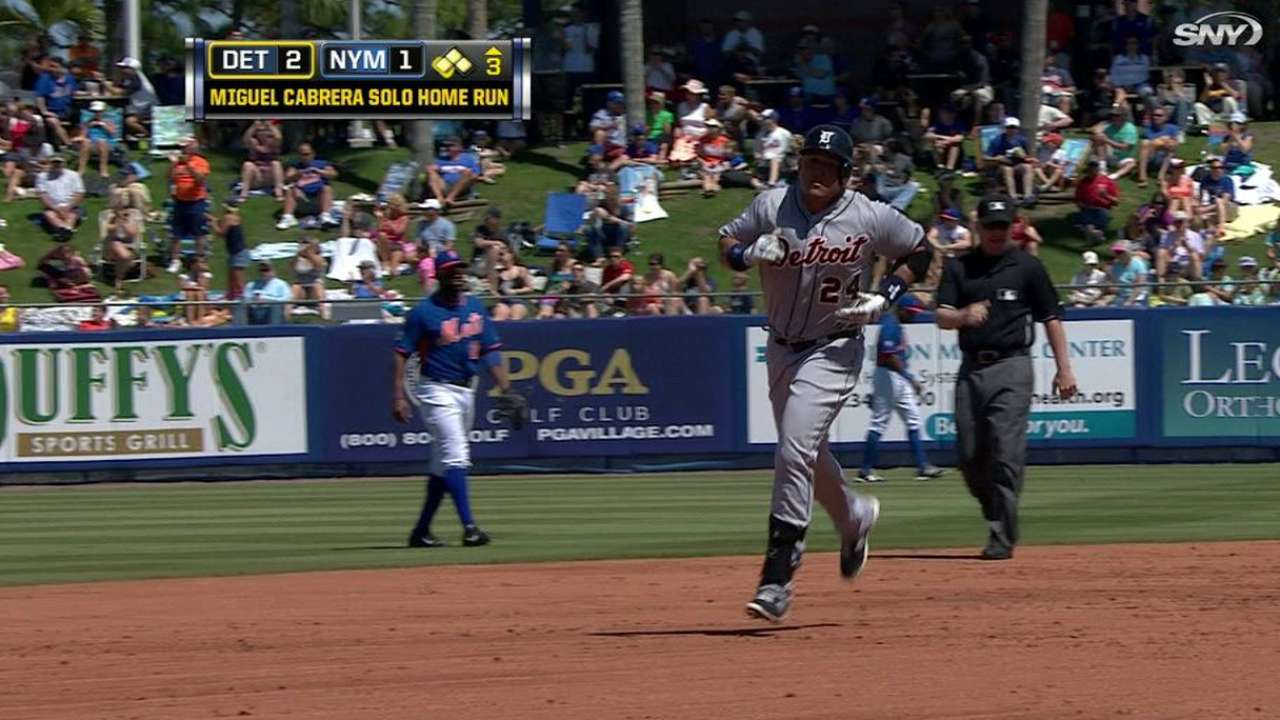 Miggy extends torrid Grapefruit League tear