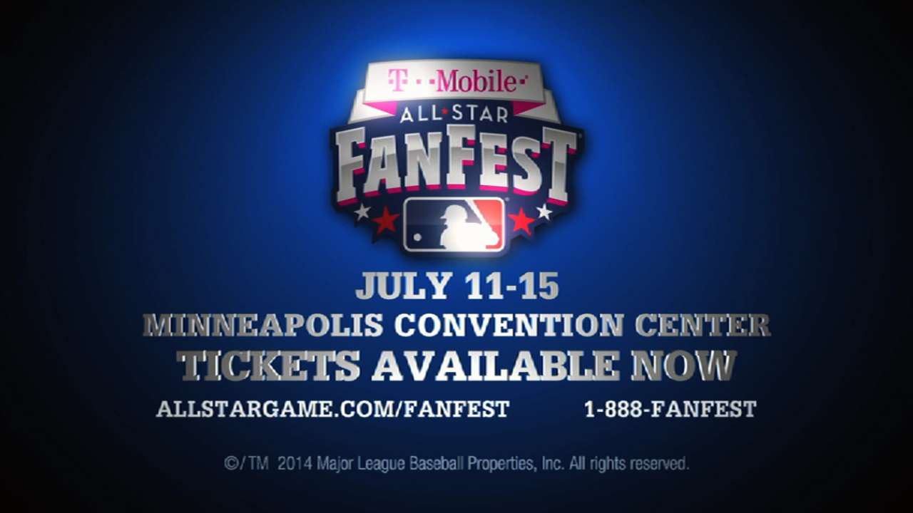 2014 FanFest to feature Twins, MLB initiatives