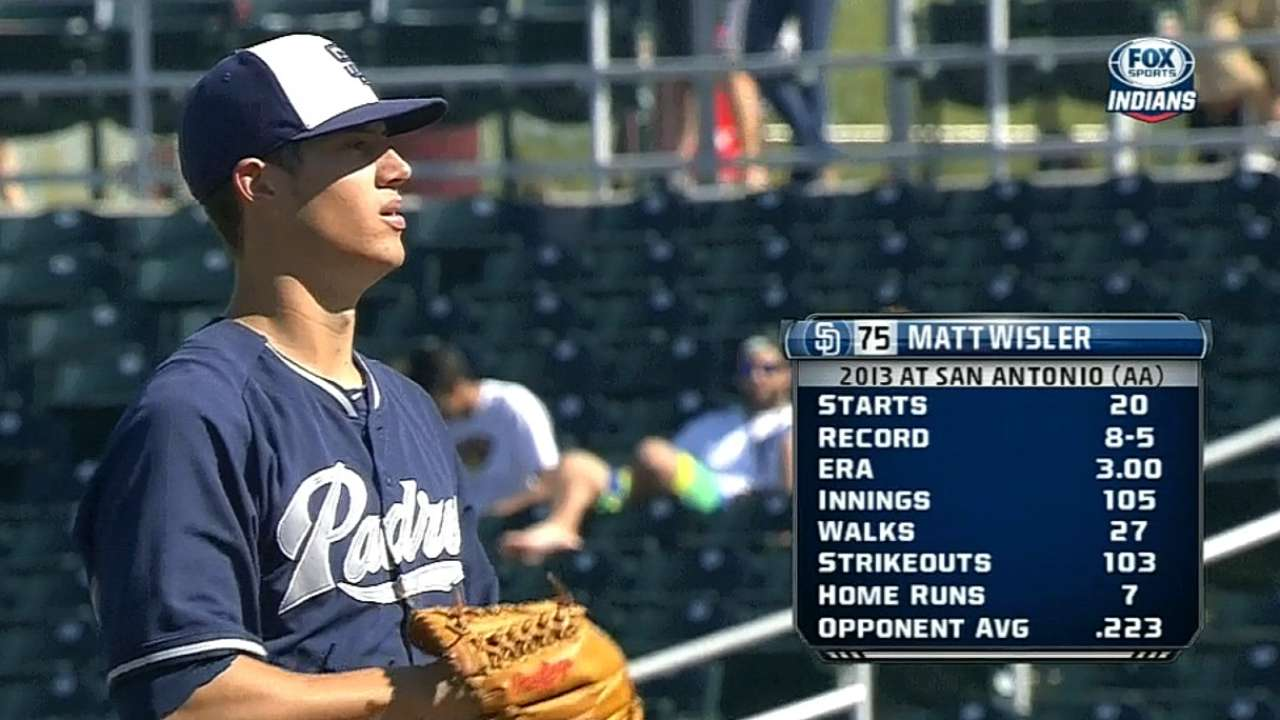 Padres prospect Wisler fans career-high 10
