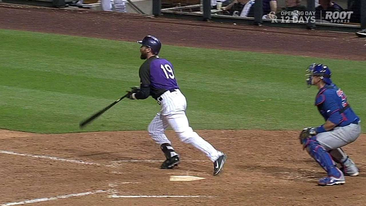 Walk-off homer boosts Blackmon's spring