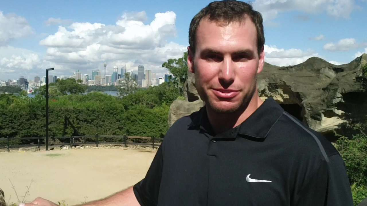 Goldschmidt takes in Taronga Zoo