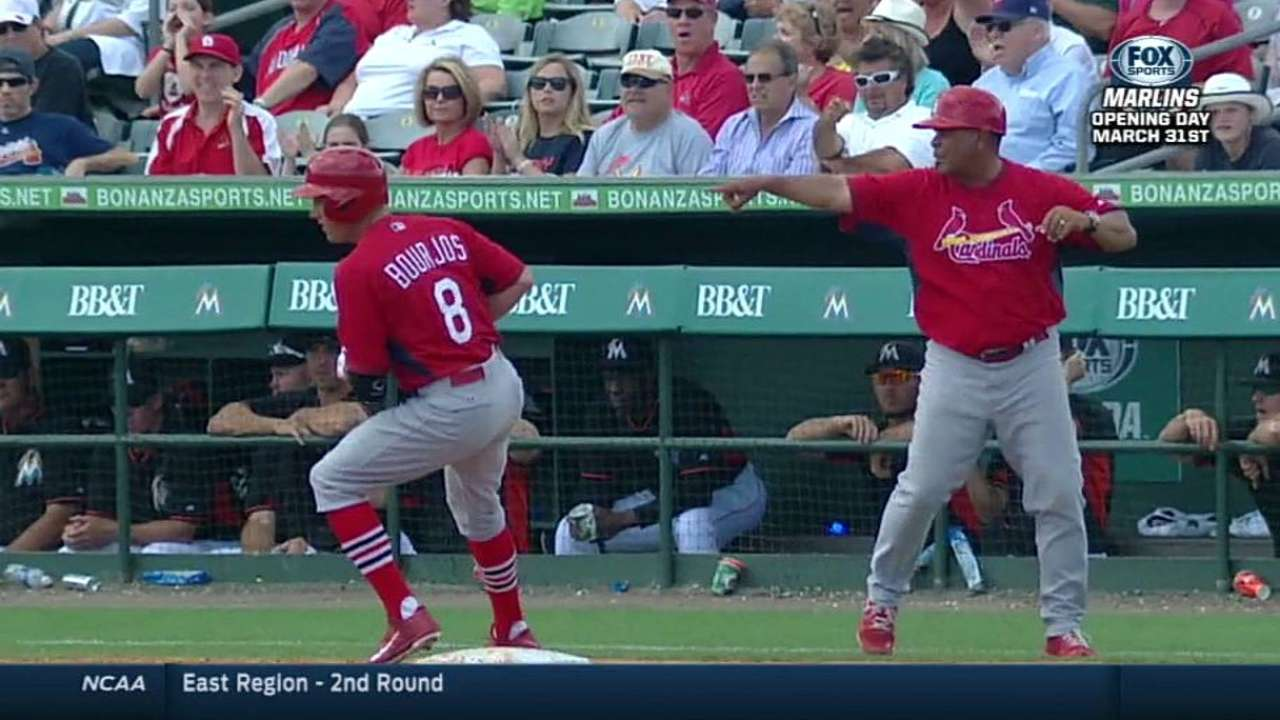 Cards' big inning not enough to defeat Marlins