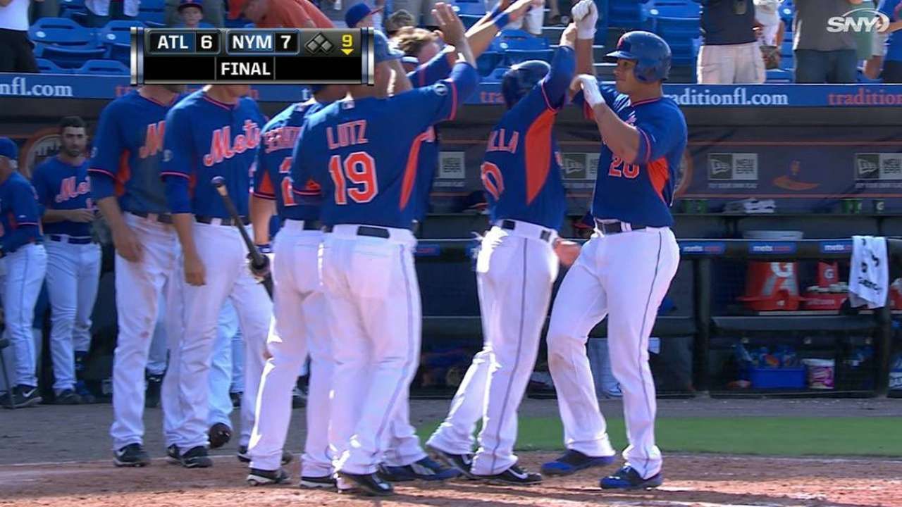 Wheeler backed by Tejada's big day in walk-off win