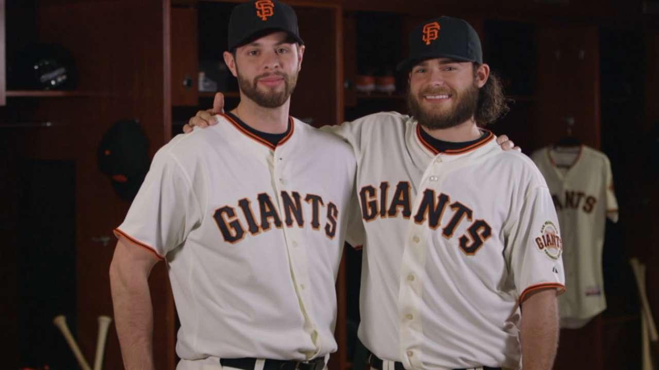 Giants loaded up with plenty of Brandons