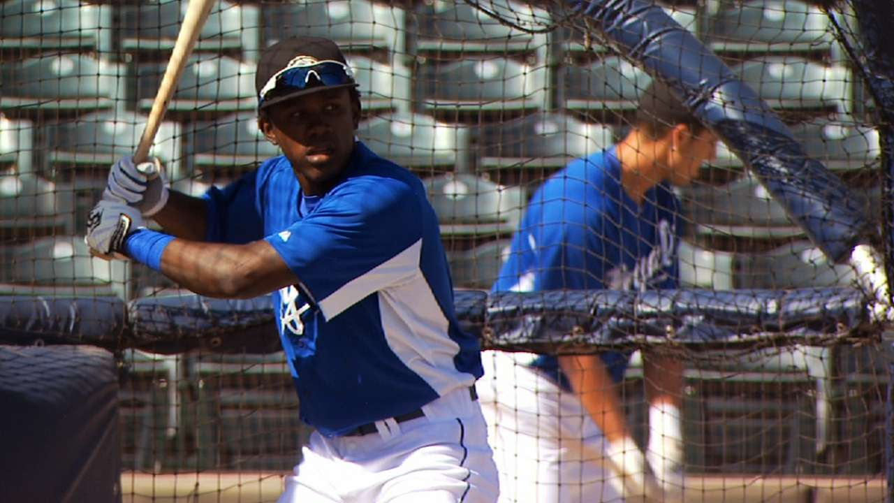 Royals prospect Calixte heating up for Naturals