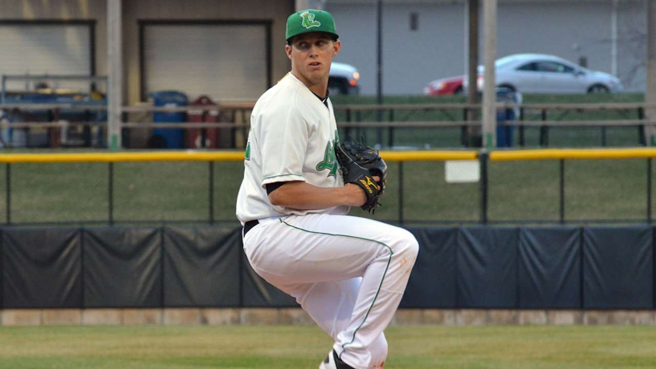 Pike combines with bullpen for Class A no-hitter