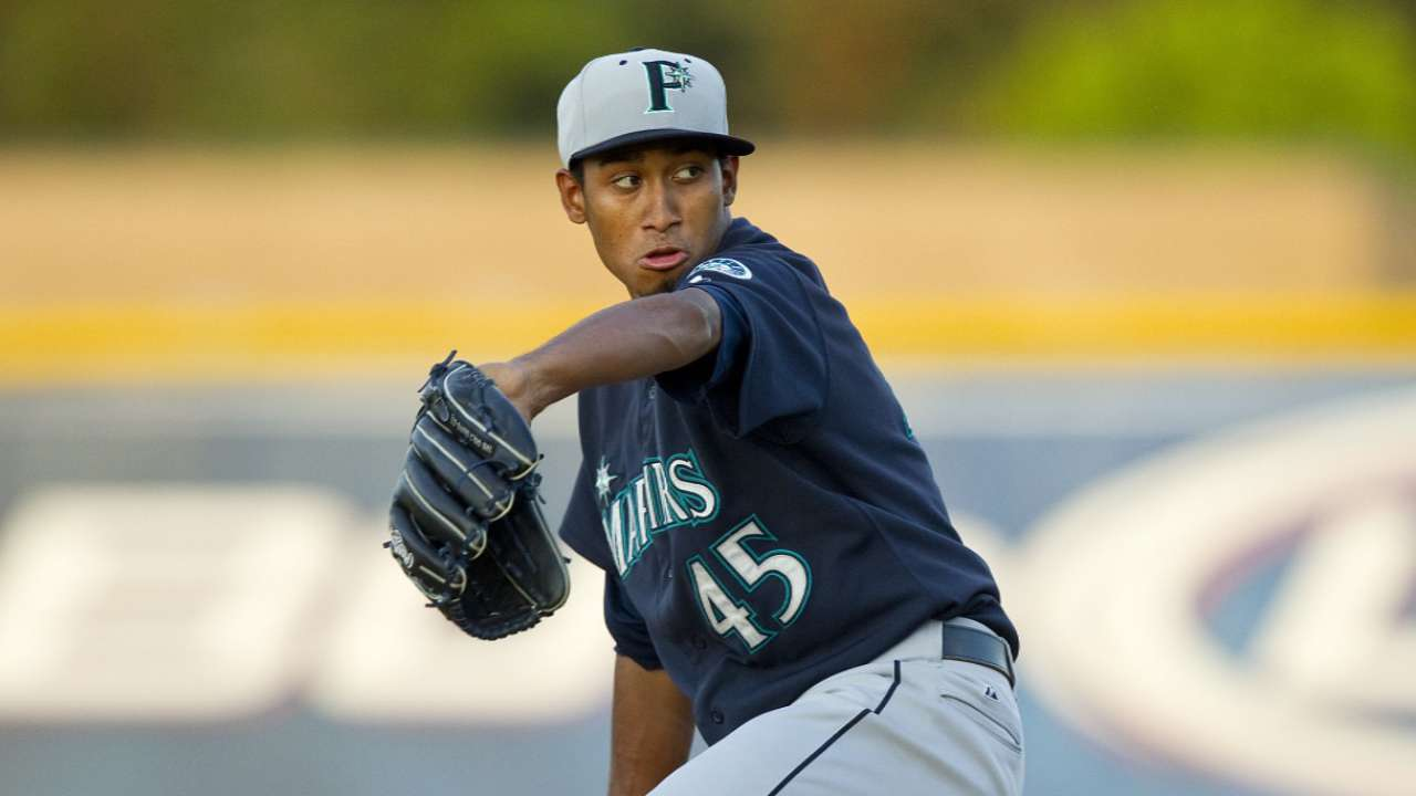 Diaz tosses six innings of three-hit ball at Class A