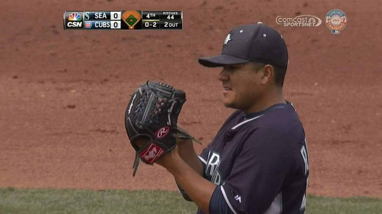 Ramirez tabbed as Mariners' No. 2 starter
