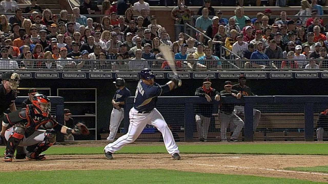 Cabrera lone Padres hitter off to good start
