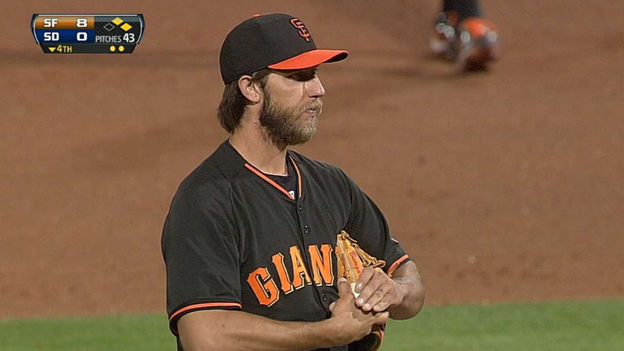 Posey's slam plenty of support for Bumgarner