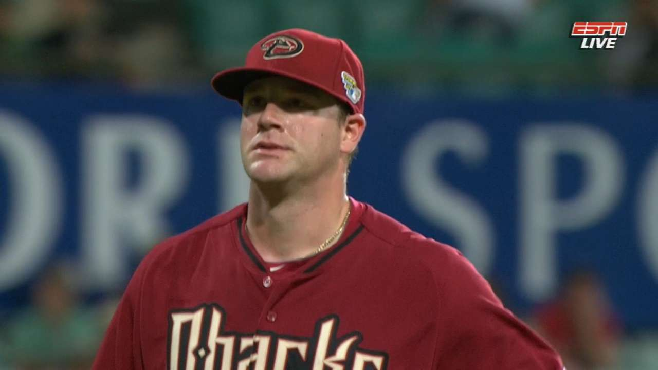 D-backs blanked in final Opening Series tuneup