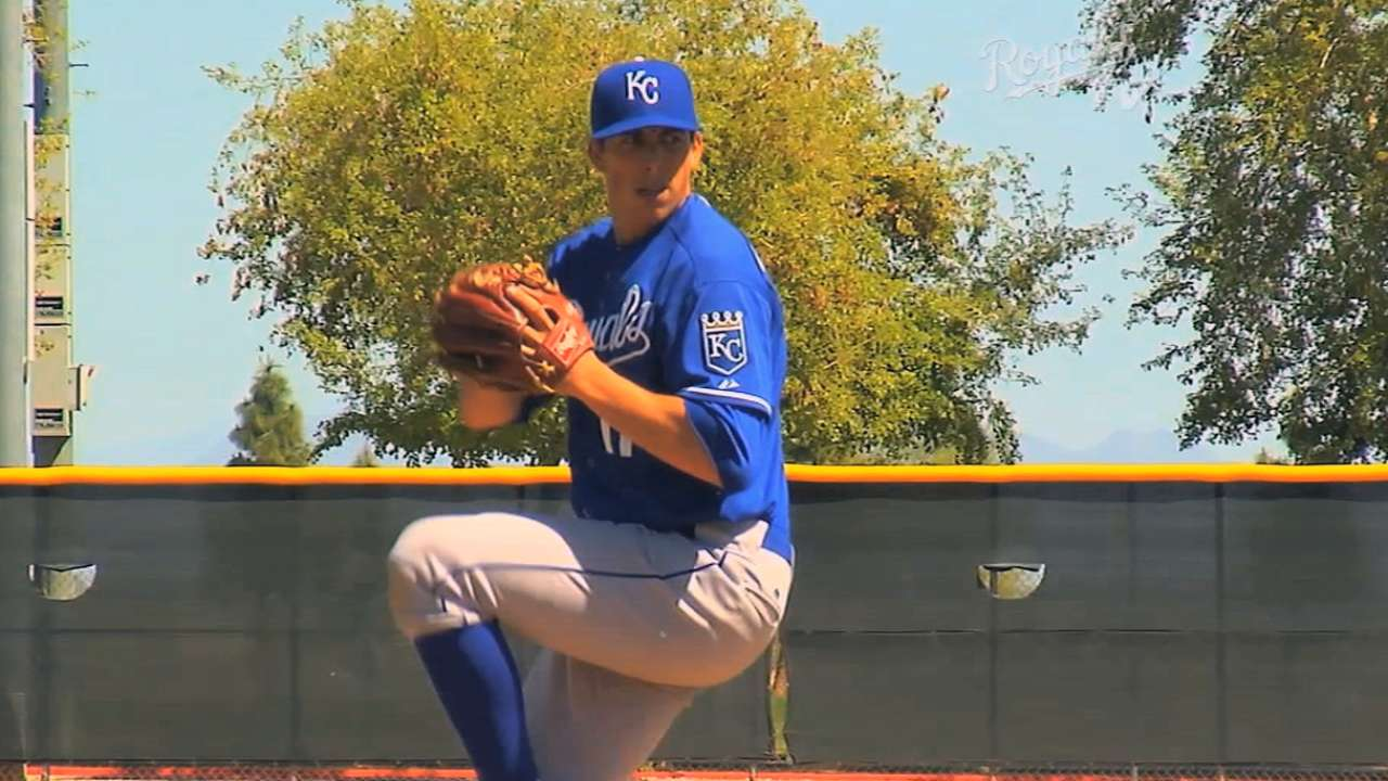 Royals' homegrown arms looking to take next step