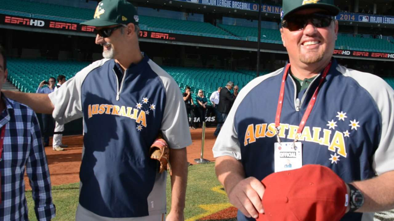 Australian Major Leaguers proud of homeland