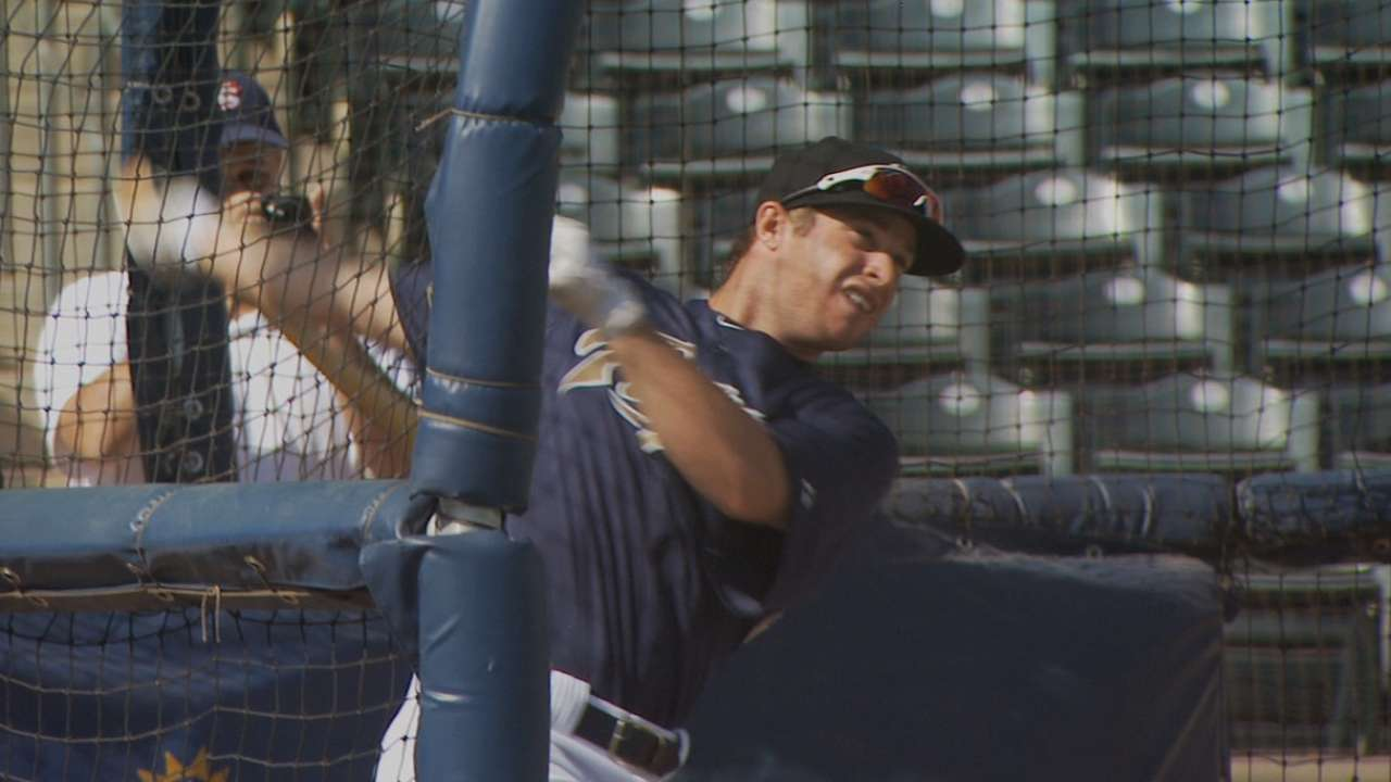 Spangenberg calls big league callup 'surreal'