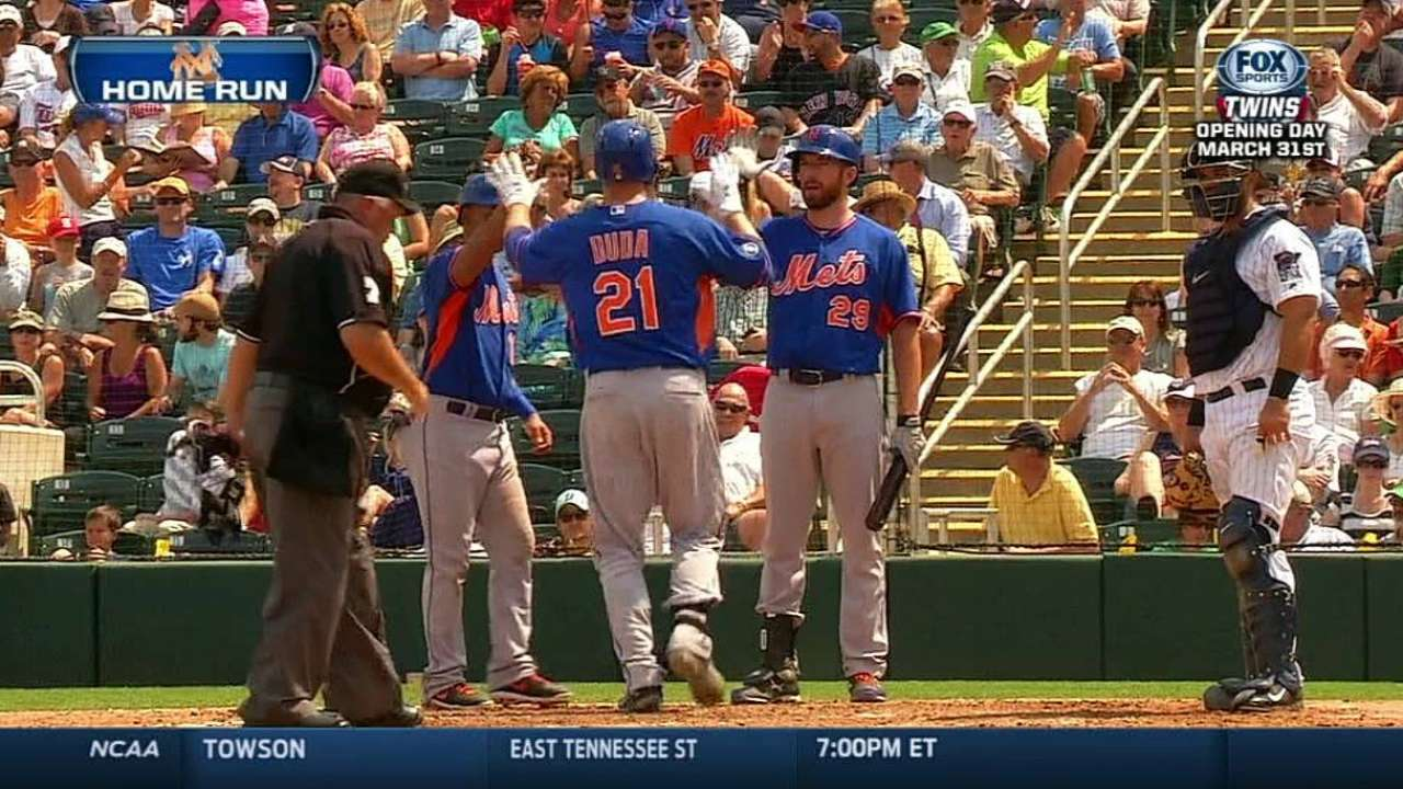 Davis, Duda waging friendly first-base battle