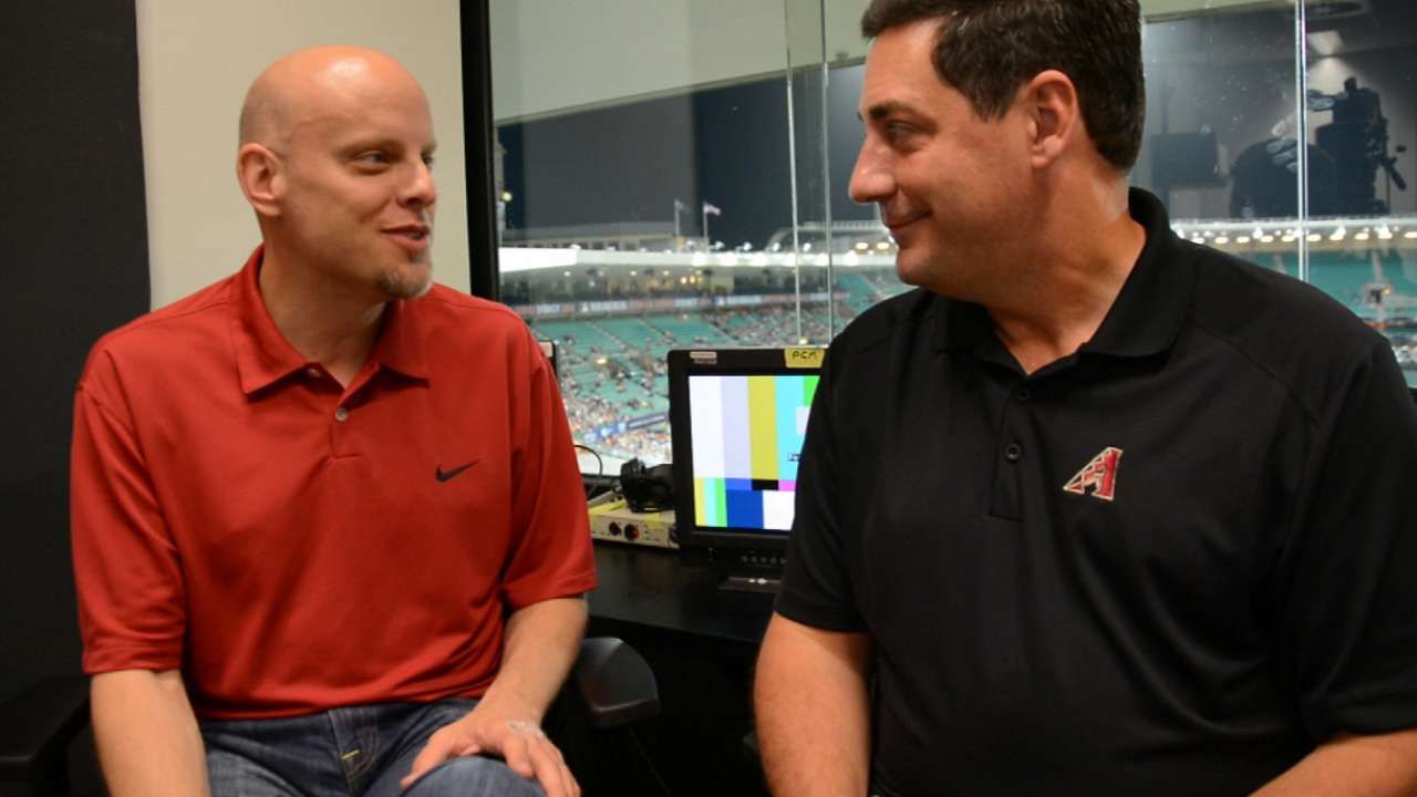 Berthiaume talks D-backs as 2014 gets underway