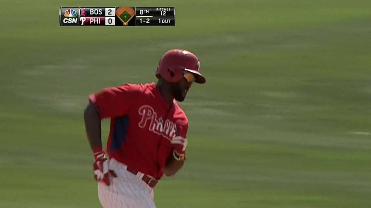Brown at DH, Gwynn in left for Phils in opener