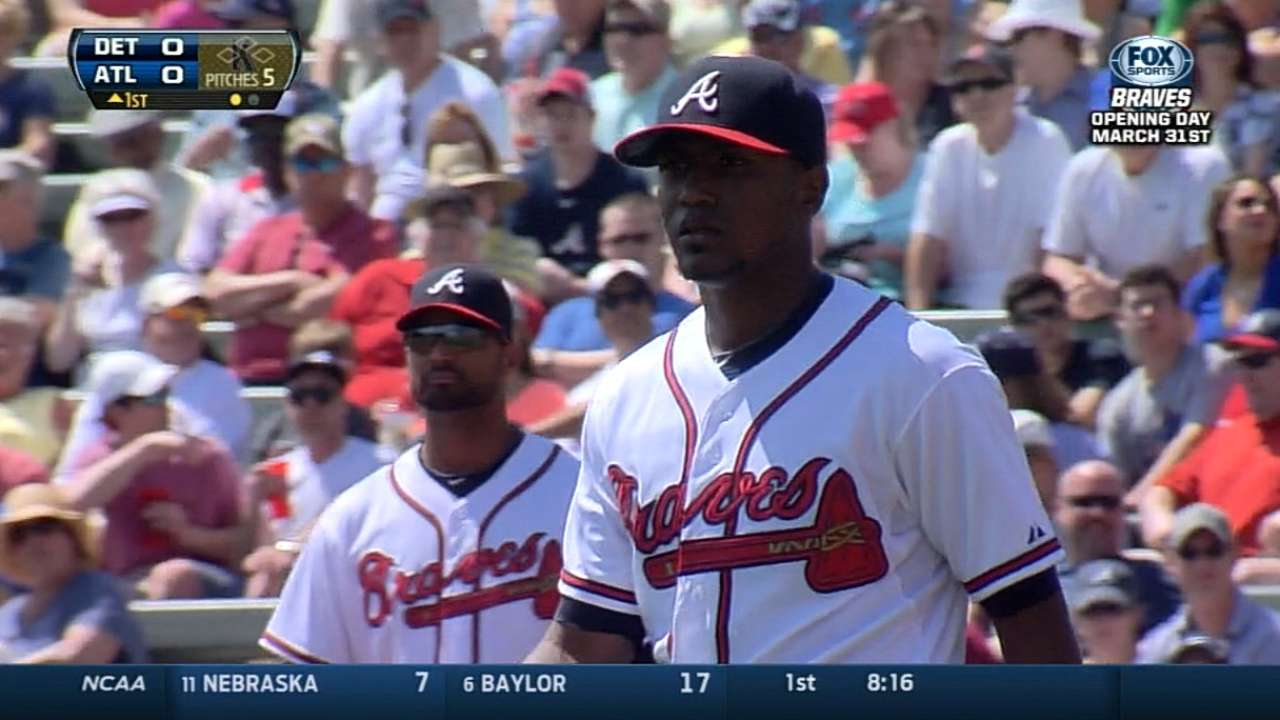 Pieced-together Braves rotation shaping up