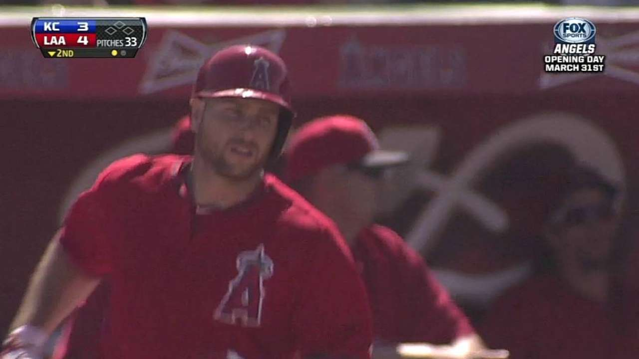Iannetta's HR, Wilson's start pace Angels' win over KC