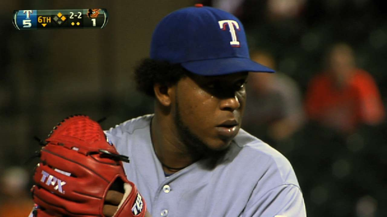 Washington: Rangers closer race remains wide open