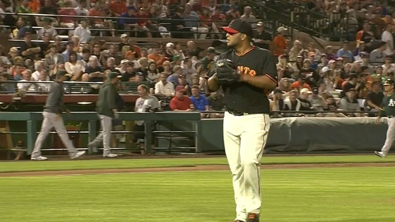 Petit, Huff lead way in shutout of A's