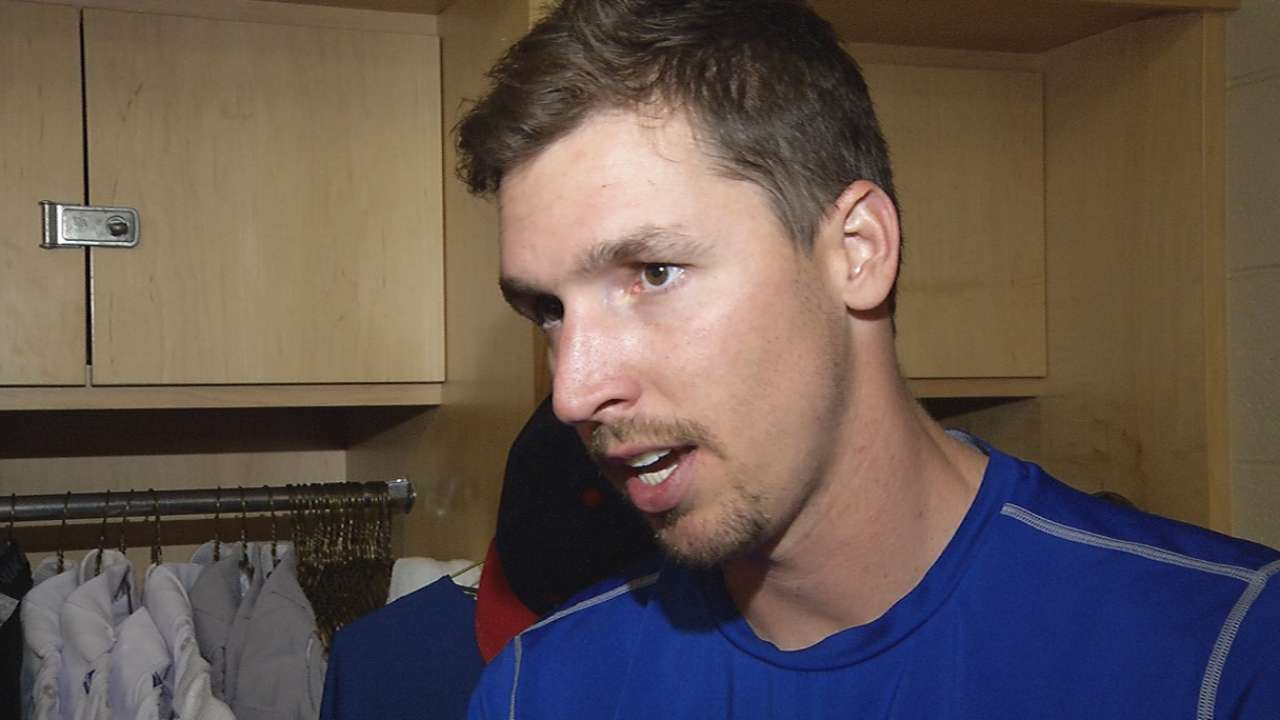 Scheppers in Rangers' rotation; Soria to close
