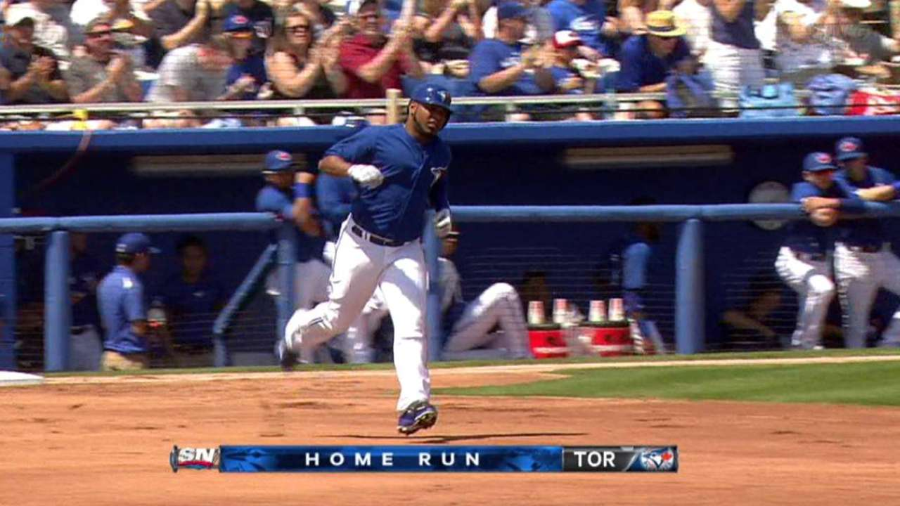 Encarnacion, Sierra homers power Blue Jays