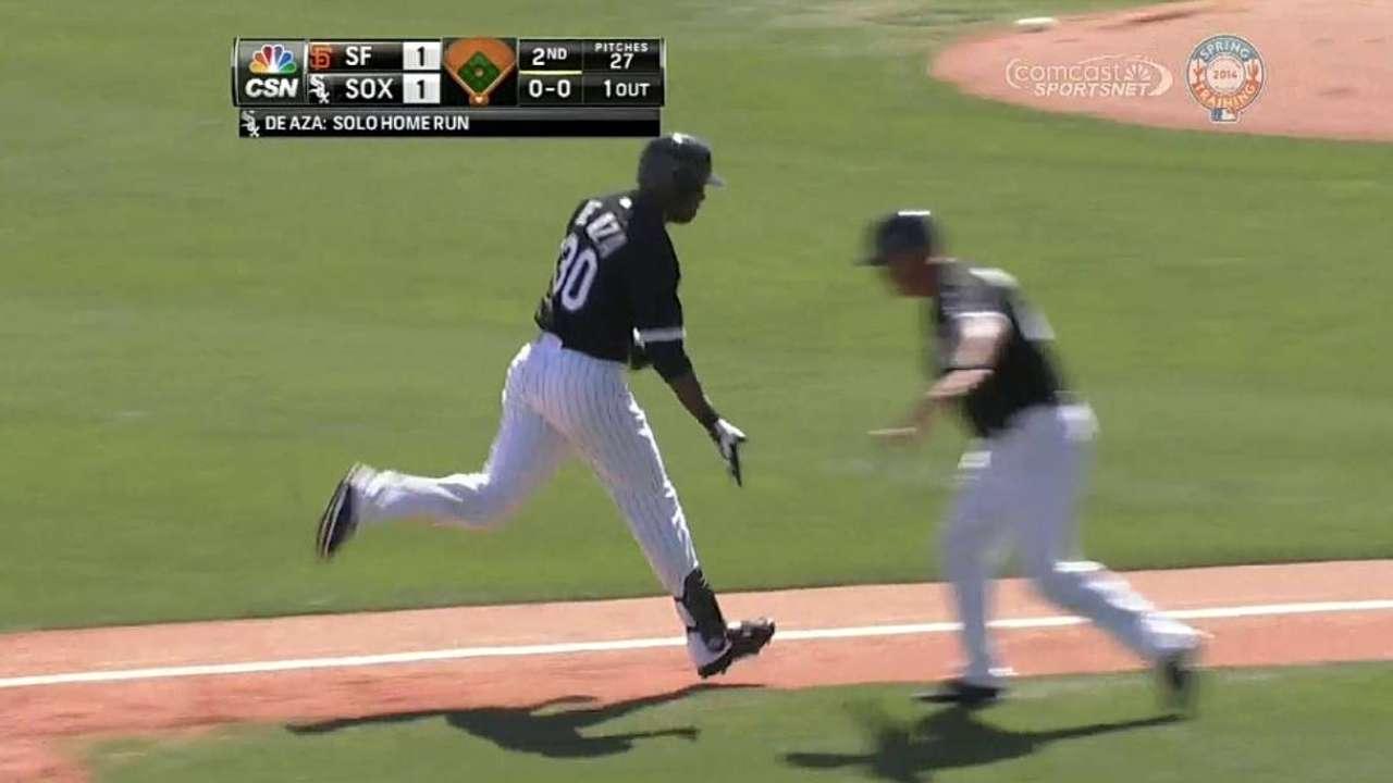 Paulino's roll vs. Giants halted in sixth inning
