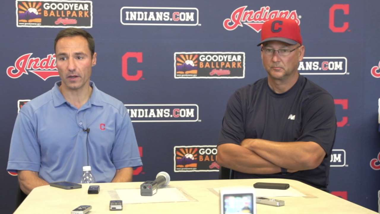 Johnson's versatility earns him spot with Tribe