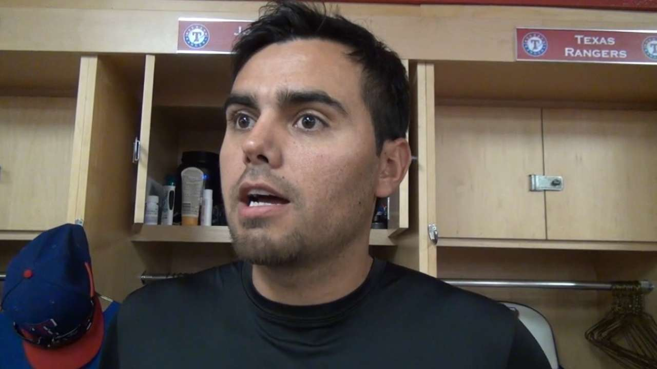 Soria thankful for Opening Day experiences