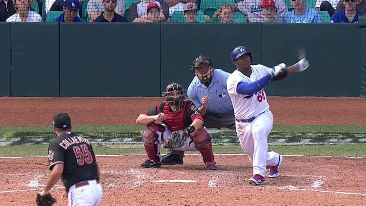 Dodgers le repiten la dosis a D-backs en Australia