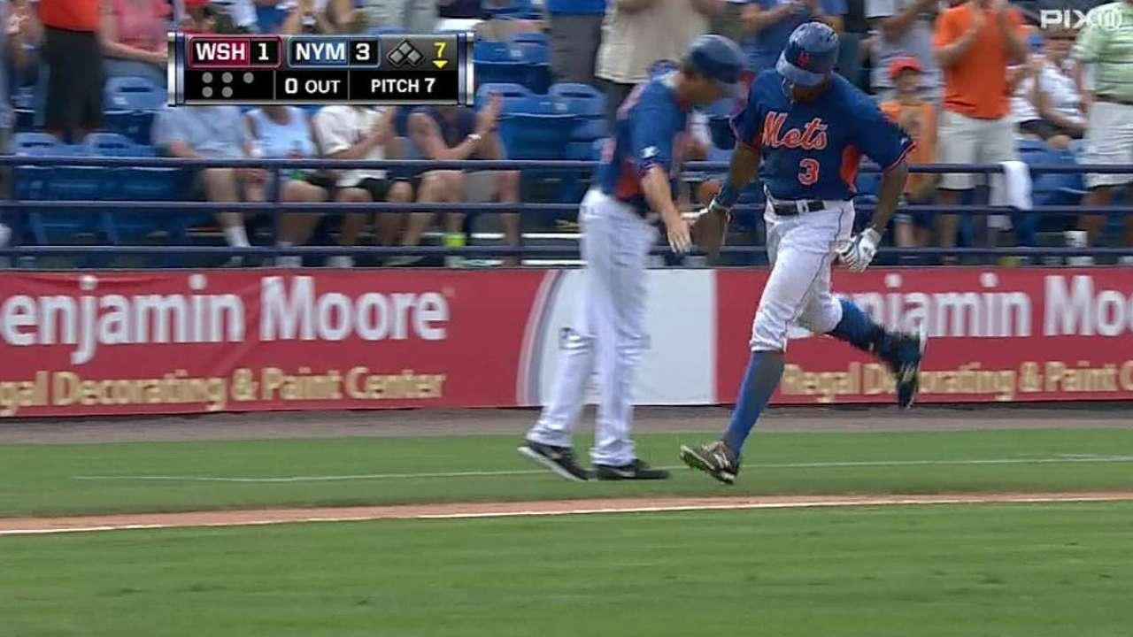 Mets superan a Nacionales y caen ante Bravos