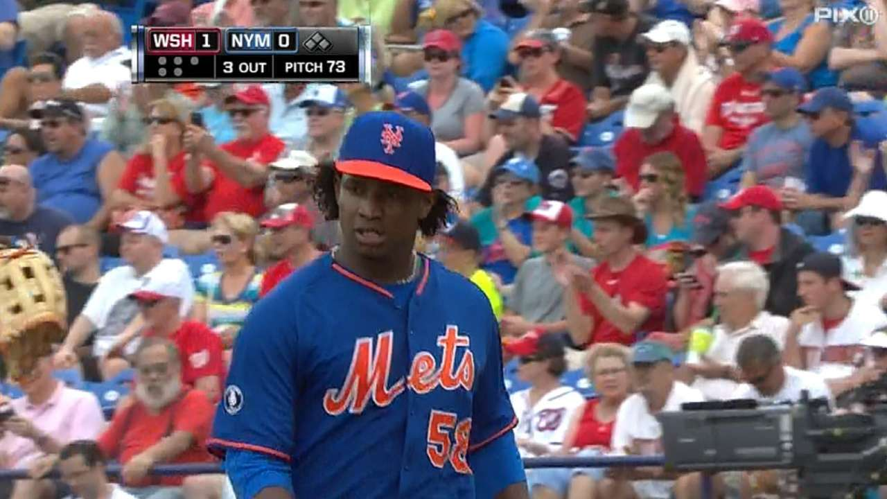 Mejia making a run at being Mets' fifth starter