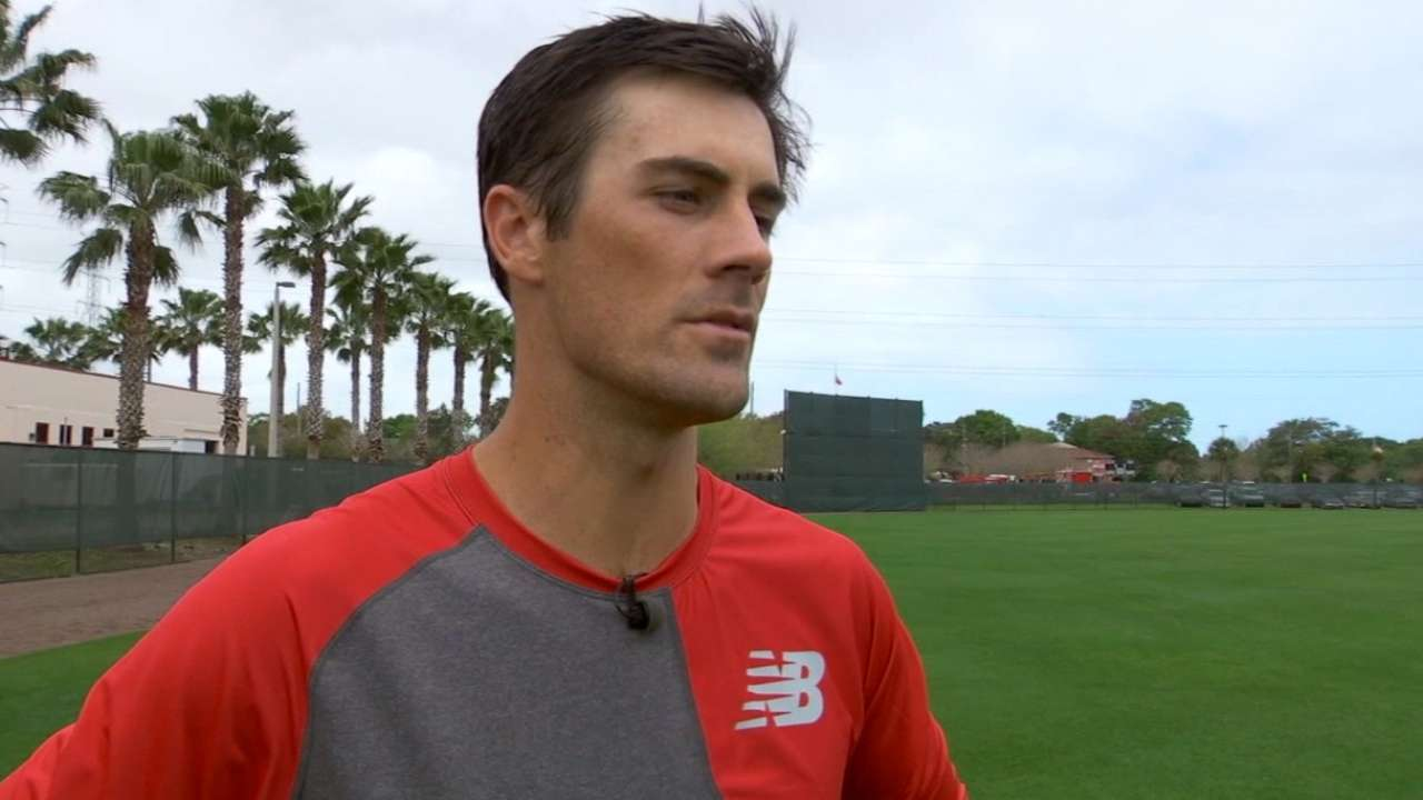 Hamels confident after first spring action