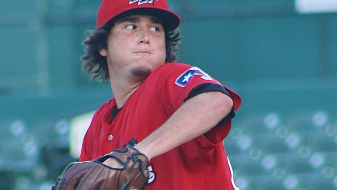 Prospect Jackson dominant for Double-A Frisco