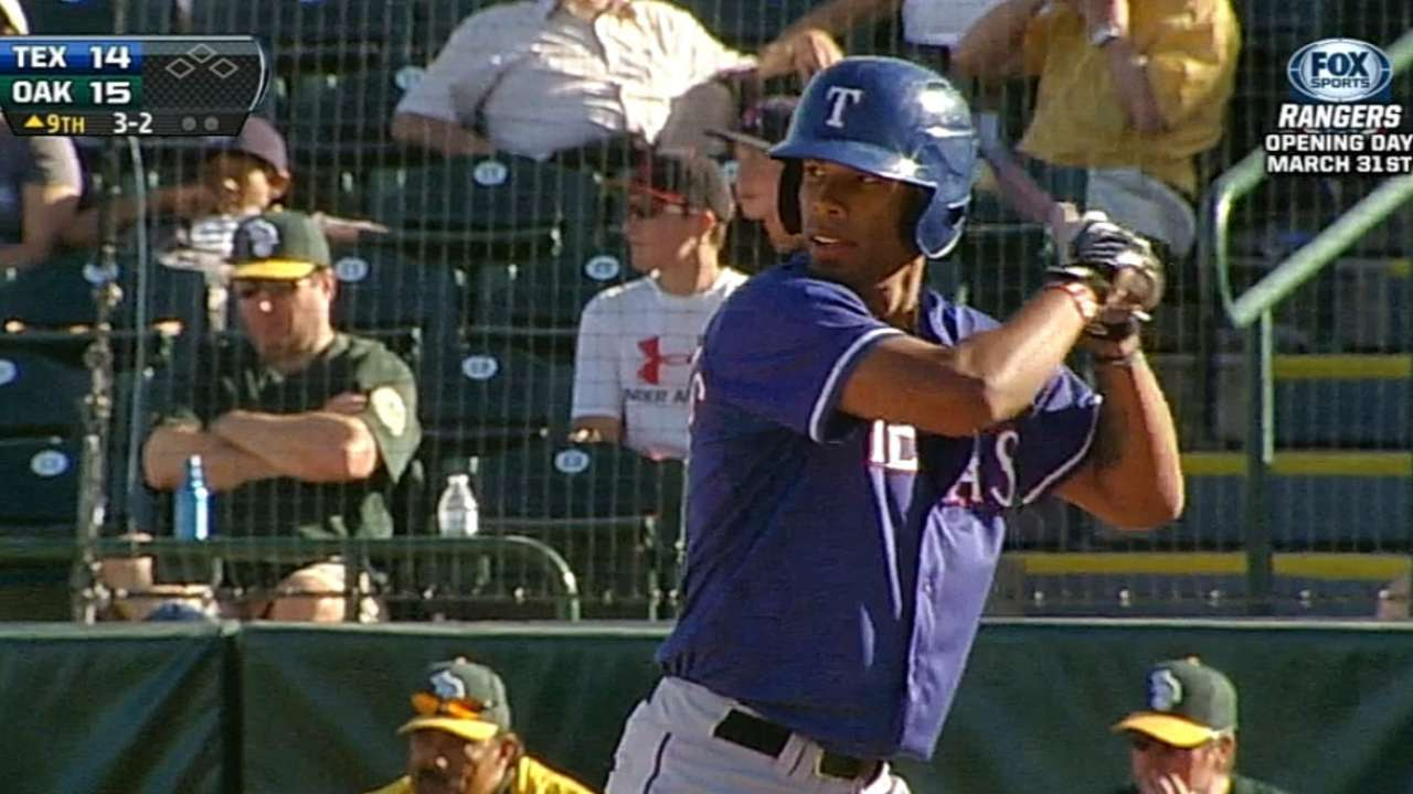 Williams among Texas' prospects set for Fall ball