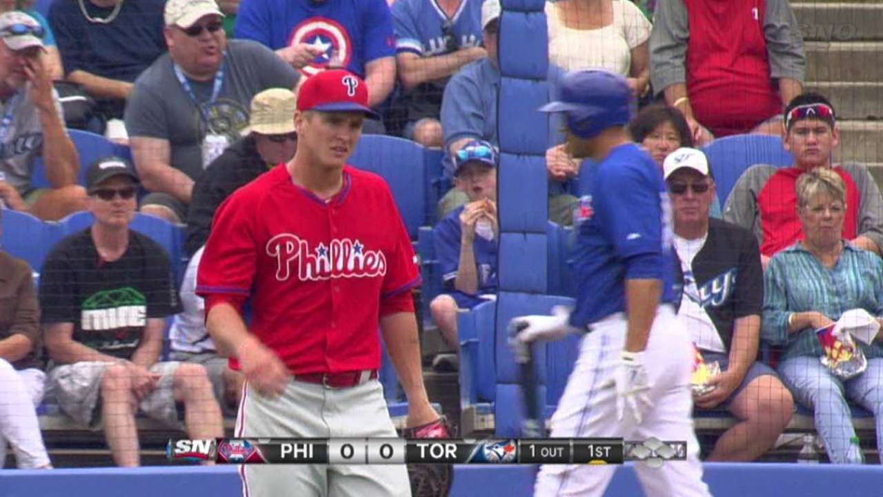 Buchanan's two spotless frames set tone for Phils