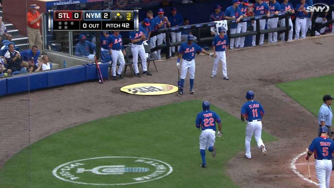Mets superan a Cardenales con buena salida de Dice-K
