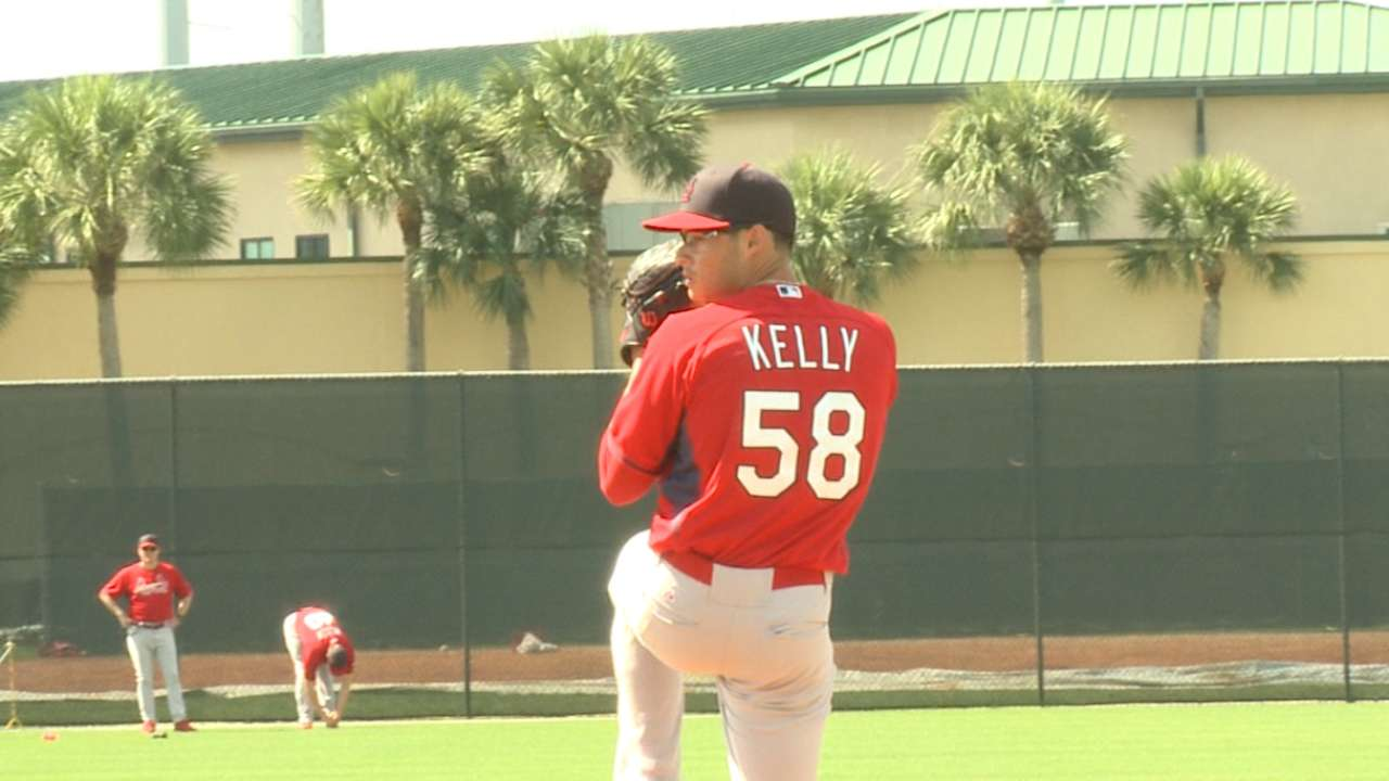 Kelly tabbed as fifth starter for Cardinals