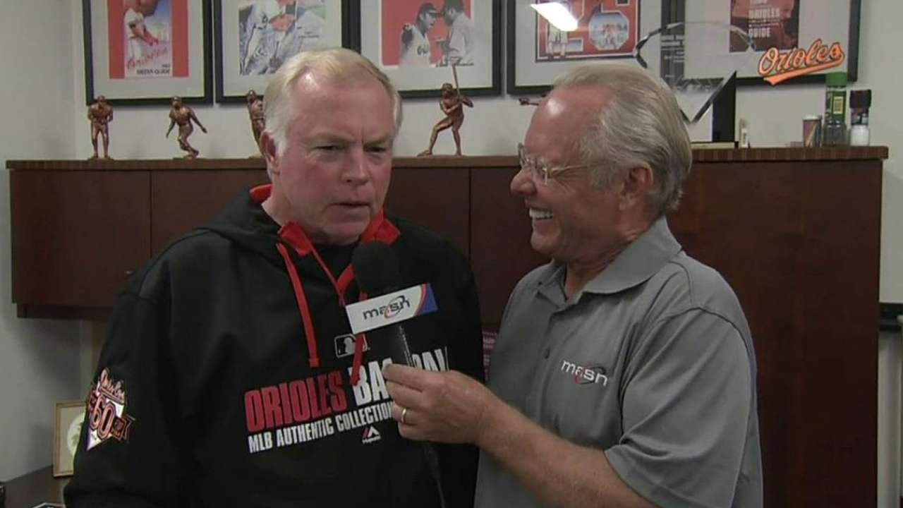 Showalter, O's praise Norfolk skipper Johnson