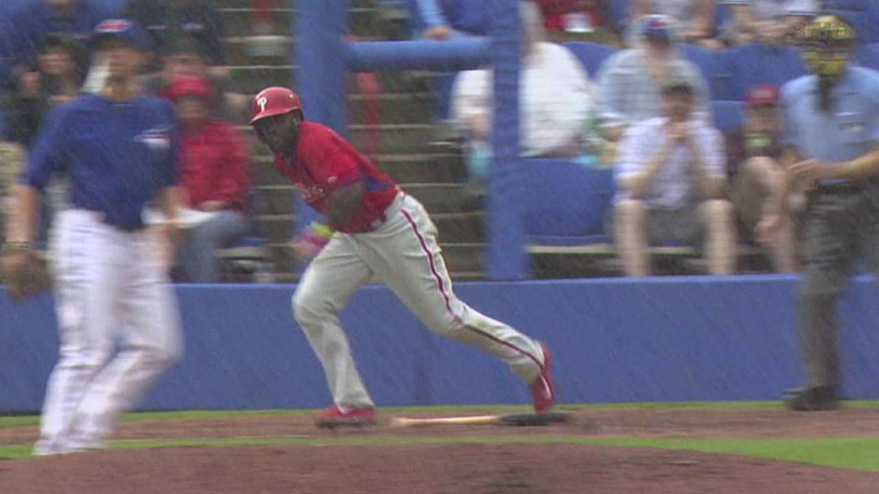 Gwynn Jr. excited to tell father after making Phillies