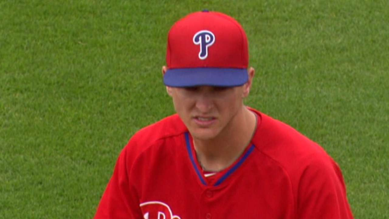 Phillies to call up Buchanan for Saturday start
